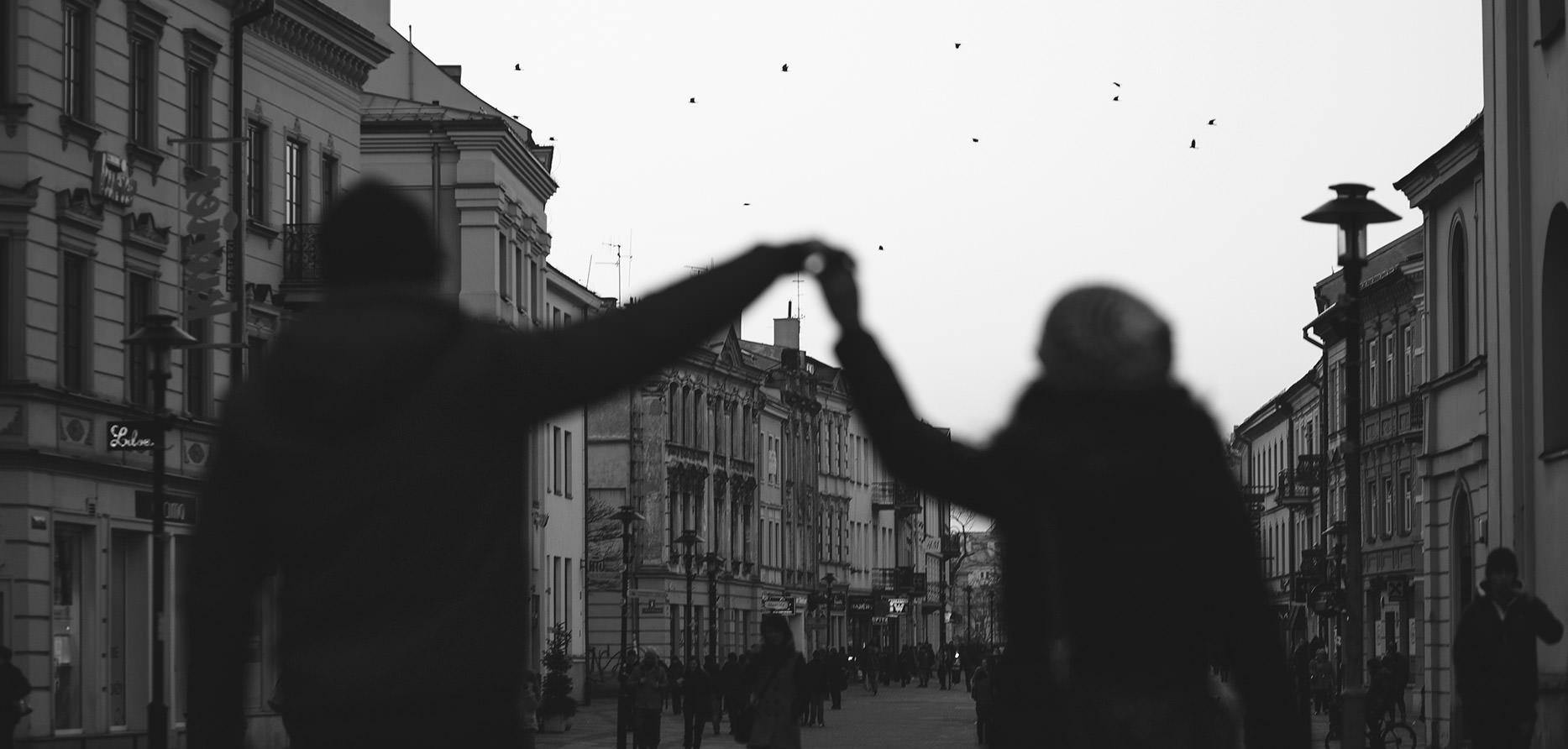 Spacer Lublin - Sesja Małżeńska Heleny i Marcosa