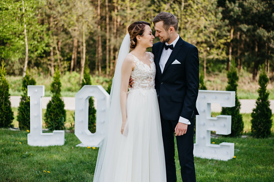 fotograf na wesele 035 - Karolina i Paweł / Gościniec pod Lasem