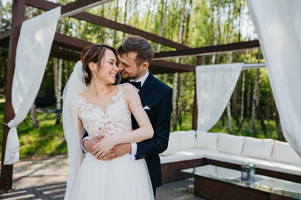 fotograf na wesele 036 - Karolina i Paweł / Gościniec pod Lasem