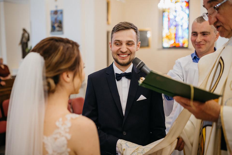 fotograf na wesele 046 - Karolina i Paweł / Gościniec pod Lasem