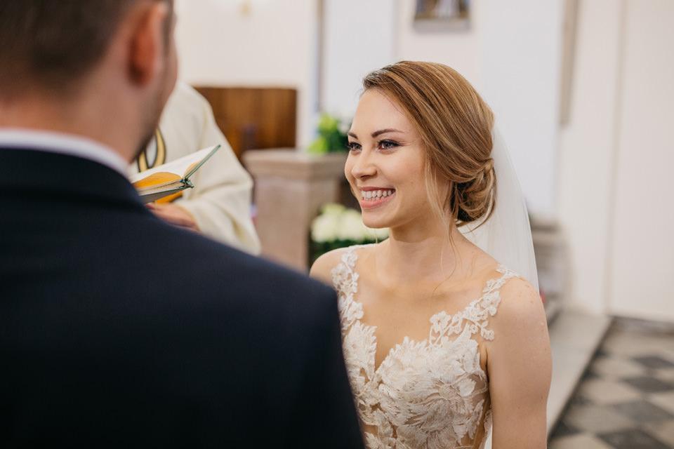 fotograf na wesele 047 - Karolina i Paweł / Gościniec pod Lasem