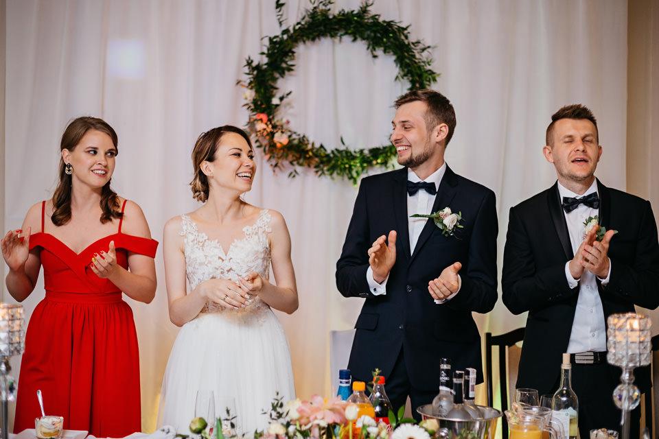 fotograf na wesele 075 - Karolina i Paweł / Gościniec pod Lasem