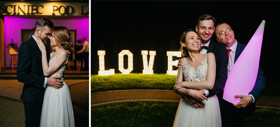 fotograf na wesele 096 - Karolina i Paweł / Gościniec pod Lasem