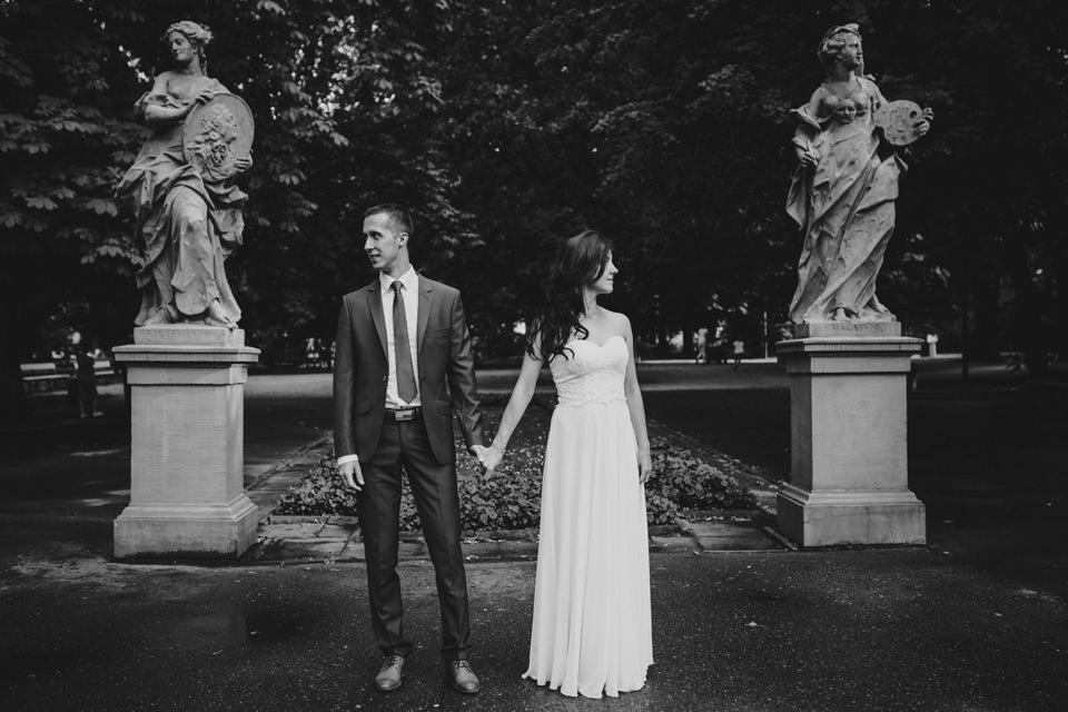 fotograf slubny warszawa 008 - Joanna i Wojtek / Sesja Ślubna Warszawa