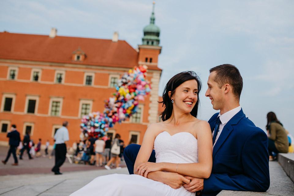fotograf slubny warszawa 021 - Joanna i Wojtek / Sesja Ślubna Warszawa