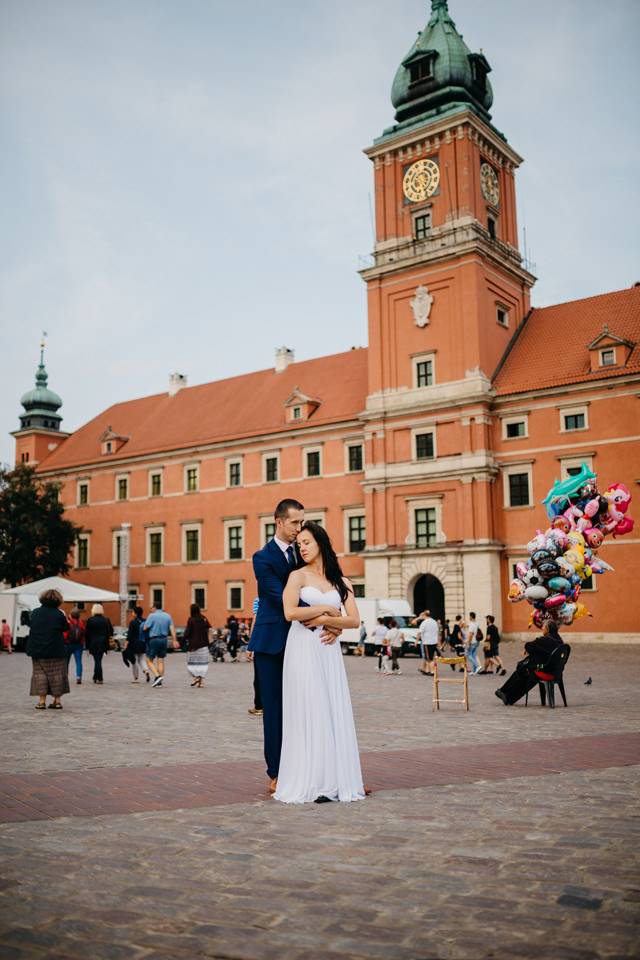 fotograf slubny warszawa 022 - Joanna i Wojtek / Sesja Ślubna Warszawa