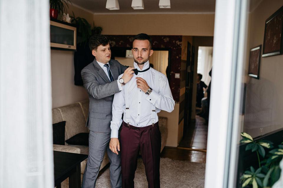 fotograf slubny 009 - Paulina i Maciej / Wesele Dworek Jabłonna