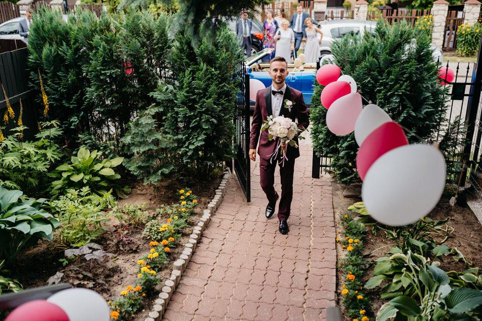 fotograf slubny 039 - Paulina i Maciej / Wesele Dworek Jabłonna