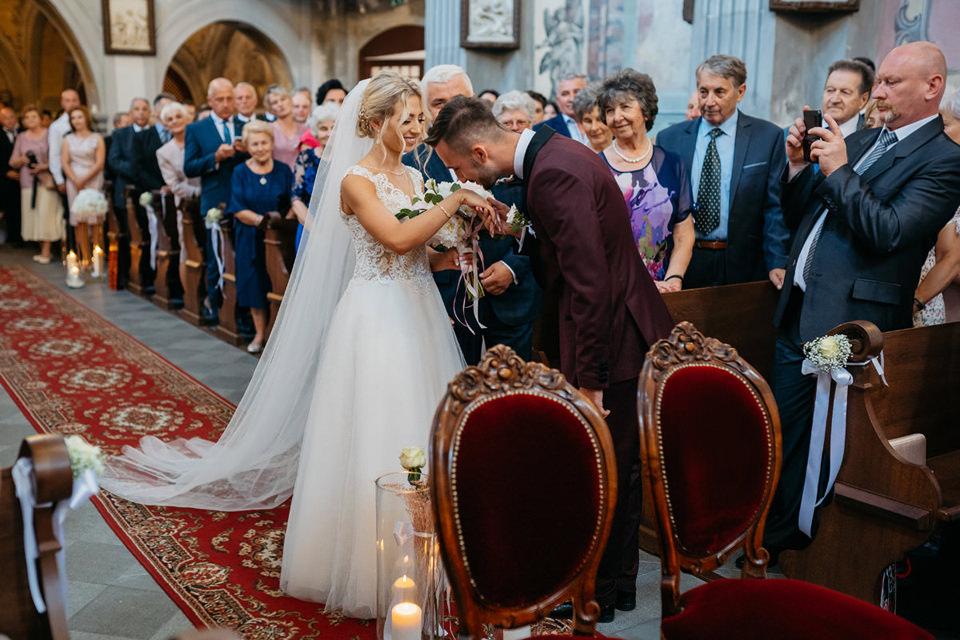 fotograf slubny 061 - Paulina i Maciej / Wesele Dworek Jabłonna