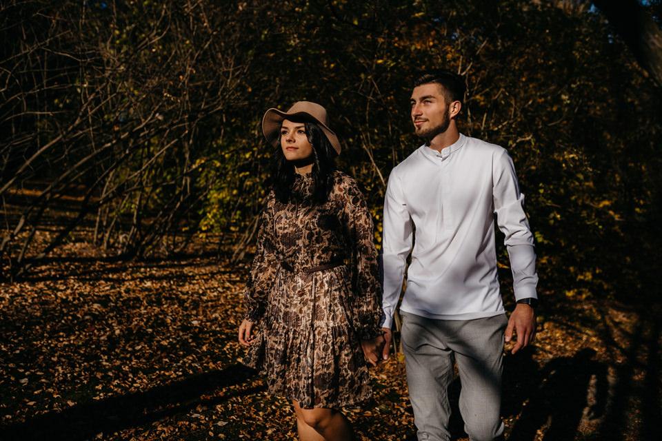 Jesienna Sesja Narzeczeńska 04 - Sesja Narzeczeńska Klaudii i Kamila