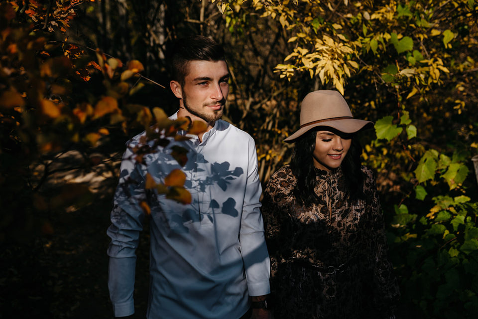 Jesienna Sesja Narzeczeńska 06 - Sesja Narzeczeńska Klaudii i Kamila