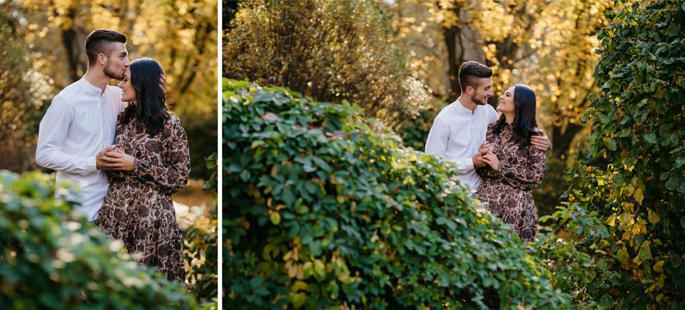 Jesienna Sesja Narzeczeńska 11 - Sesja Narzeczeńska Klaudii i Kamila