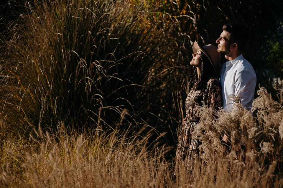 Jesienna Sesja Narzeczeńska 15 - Sesja Narzeczeńska Klaudii i Kamila