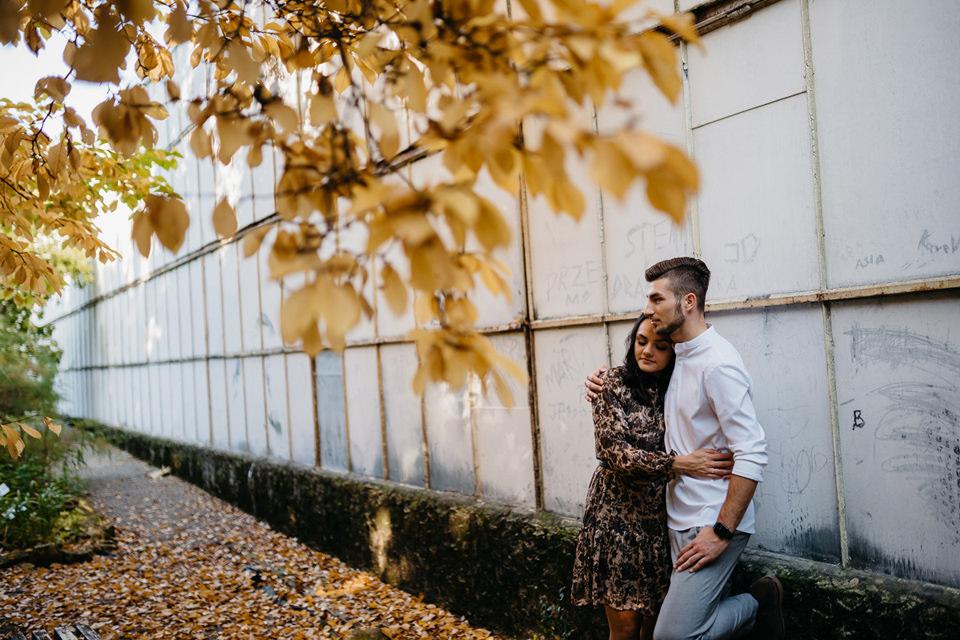 Jesienna Sesja Narzeczeńska 18 - Sesja Narzeczeńska Klaudii i Kamila