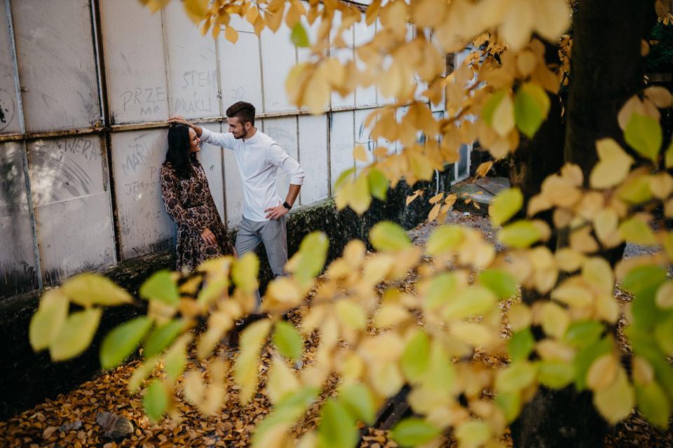 Jesienna Sesja Narzeczeńska 20 - Sesja Narzeczeńska Klaudii i Kamila