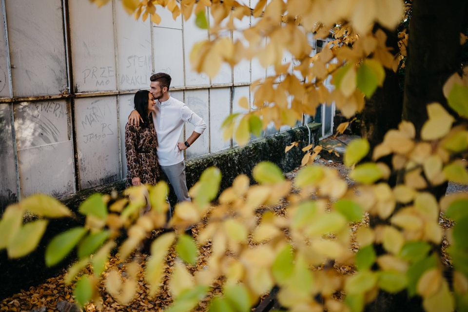 Jesienna Sesja Narzeczeńska 21 - Sesja Narzeczeńska Klaudii i Kamila