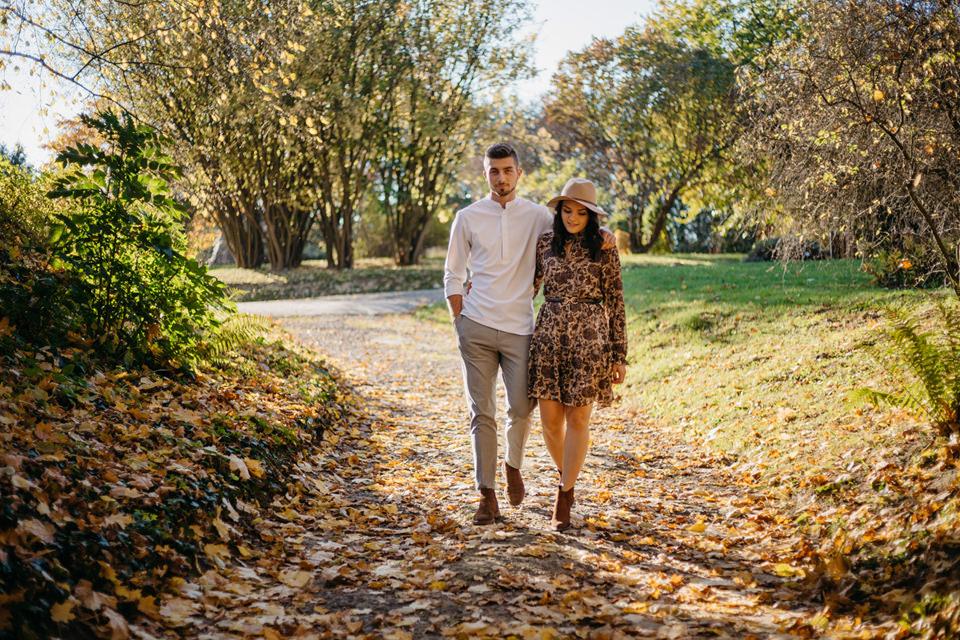 Jesienna Sesja Narzeczeńska 23 - Sesja Narzeczeńska Klaudii i Kamila