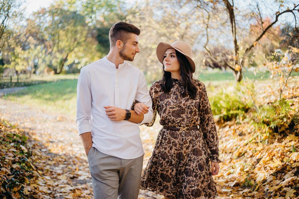 Jesienna Sesja Narzeczeńska 24 - Sesja Narzeczeńska Klaudii i Kamila