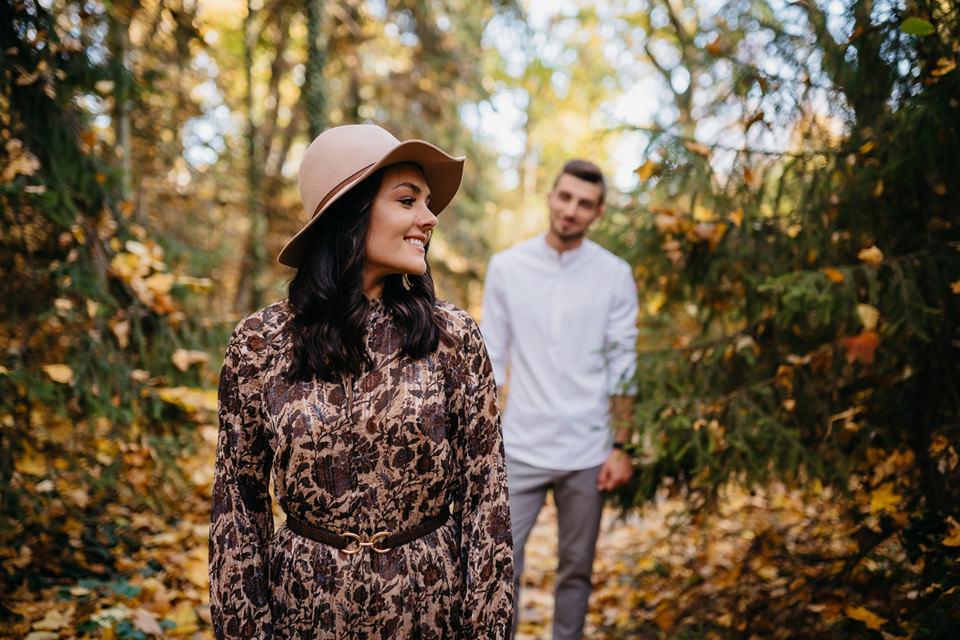 Jesienna Sesja Narzeczeńska 30 - Sesja Narzeczeńska Klaudii i Kamila