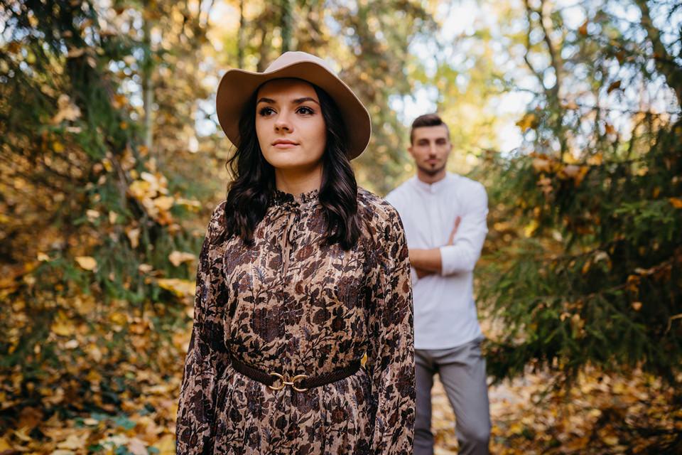 Jesienna Sesja Narzeczeńska 31 - Sesja Narzeczeńska Klaudii i Kamila