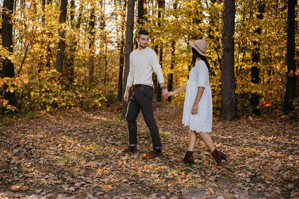 Jesienna Sesja Narzeczeńska 42 - Sesja Narzeczeńska Klaudii i Kamila