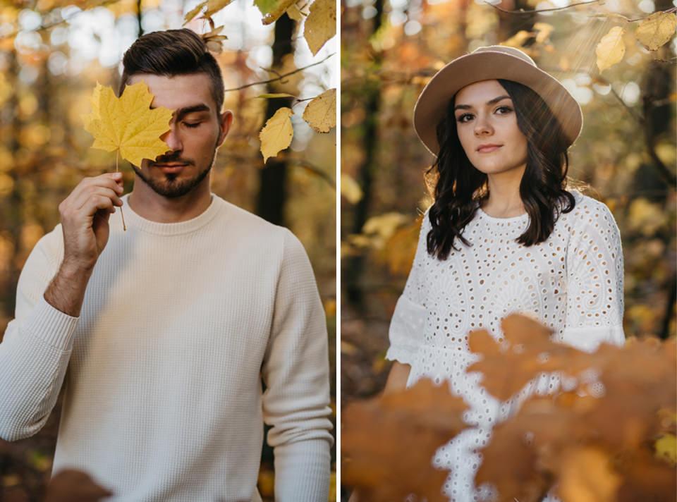 Jesienna Sesja Narzeczeńska 44 - Sesja Narzeczeńska Klaudii i Kamila