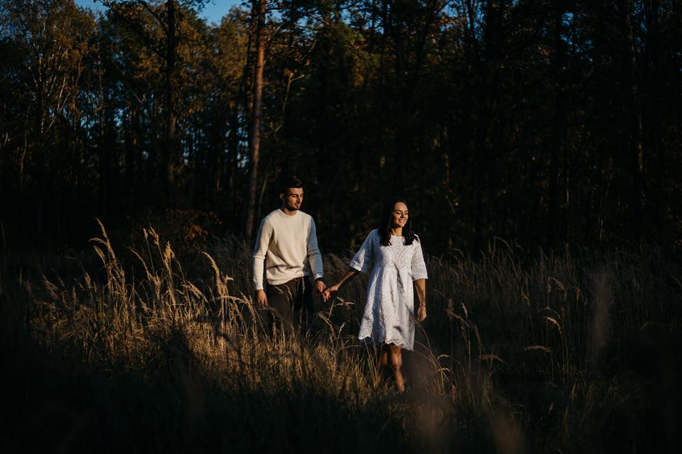 Jesienna Sesja Narzeczeńska 54 - Sesja Narzeczeńska Klaudii i Kamila